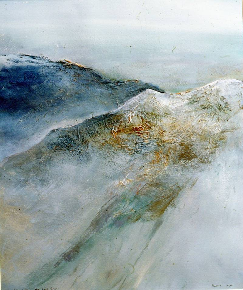 BILL PEASCOD.   PEAKS AND PAINTINGS