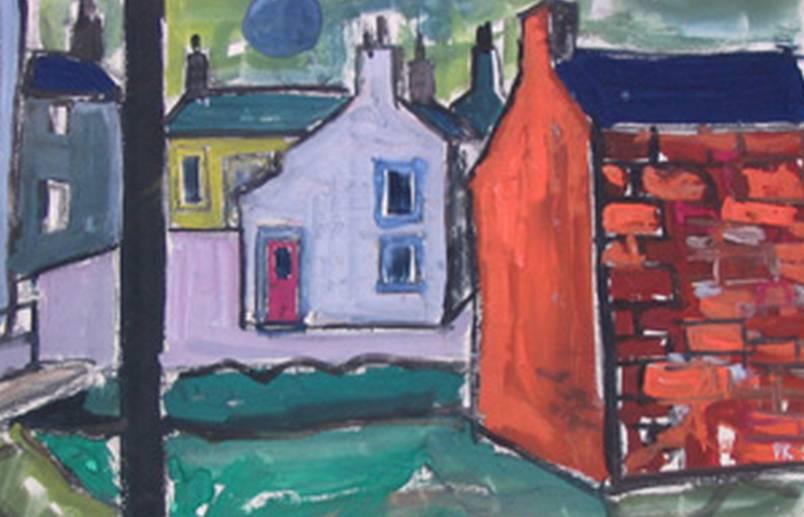 The pink door, Glen Cottage allonby