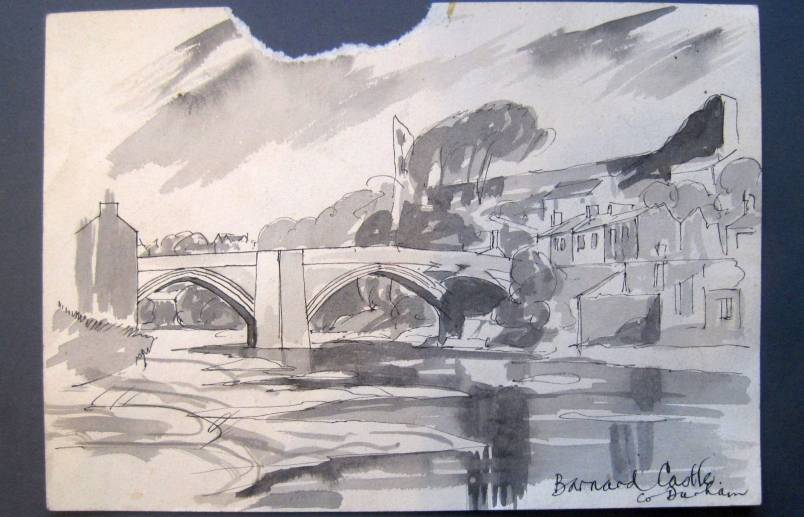 Barnard Castle early 1940's