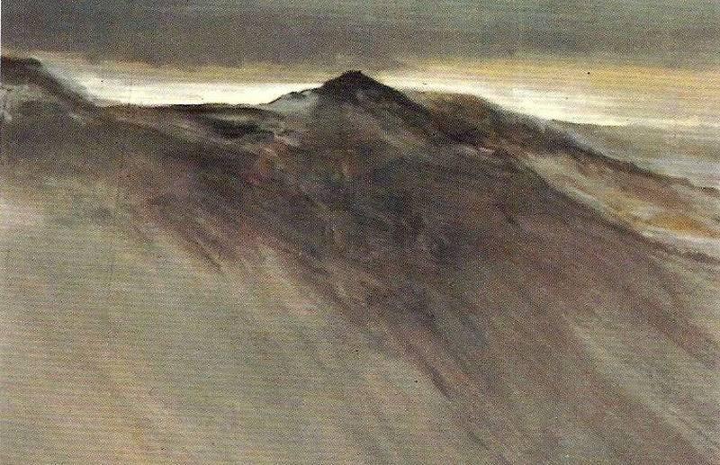 Evening sky: Grisedale Pike 1983