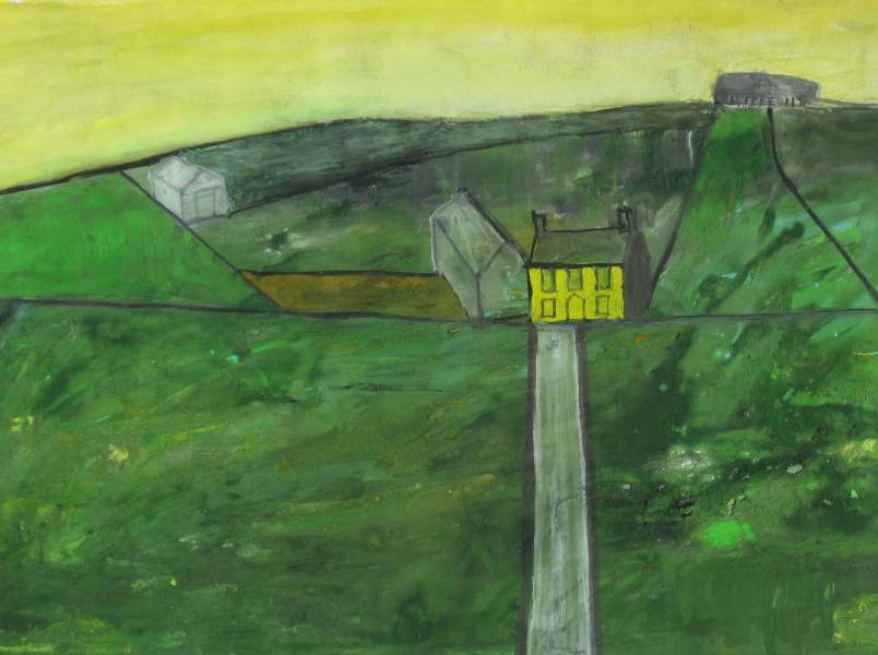 Percy Kelly paintings, drawings, letters
